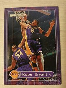 Kobe Bryant Los Angeles Lakers NBA Fleer 2000 Impact