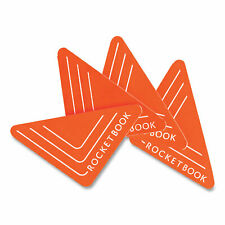 Beacons Smart Stickers For Whiteboards 25 Triangles Orange 4pack Beaa4rcfr