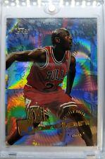 Rare: 1995 95 Topps Power Boosters Michael Jordan #277, Refractor Like Parallel