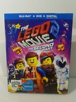 New Sealed The LEGO Movie 2: The Second Part BLU RAY +DVD + DIGITAL + SLIPCOVER