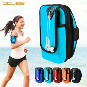 Arm Band Phone Holder Sport Bag Outdoor Training Workout Gym Run Handphone Pouch