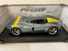 Ferrari Monza SP 1, silber, Bburago Race&Play 1:18 Modell