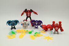 HASBRO Transformers Mini-Con Lot of 6 Hammer Undertone Anvil Slipstream RID2015