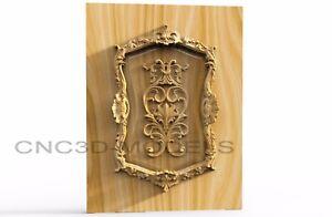 3D Model STL for CNC Router Engraver Carving Artcam Aspire Kitchen Door v412