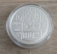 Pièce de 10 euros, BELGIQUE, 2016 sous capsule, Albert Einstein