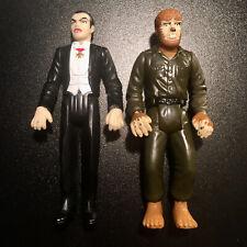 1997 Dracula & Werewolf Universal Monsters Burger King Action Figure Lot of 2