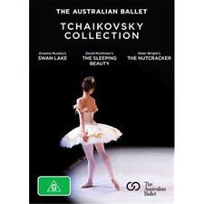 AUSTRALIAN BALLET THE TCHAIKOVSKY COLLECTION 3 DVD REGION 0 PAL NEW