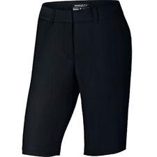 "NWT Nike Women's Dry Bermuda Tournament 11"" Golf Shorts Black 14 Msrp $75 747135"
