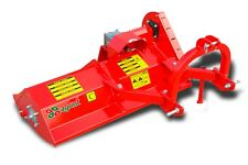 More details for mtp132 - mistral top italian offset flail mower - 1.32m - for compact tractors