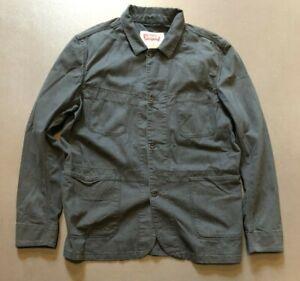 """Vintage Style Levis  Black HBT Chore coat  / Sack  Jacket L - XL  44"""" - 46"""""""