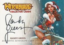Witchblade - Breygent 2014 SDCC Autograph Card signed by Randy Green