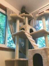 Cat Condo For Indoor Big Tower Multi Giant Castle And Large Extra Tree Tall 72""