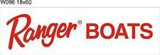 W096 Ranger Boats banner garage decor Nautical fishing signs