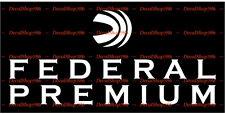 Federal Premium Ammo II - Hunting/Shooting - Vinyl Die-Cut Peel N' Stick Decals