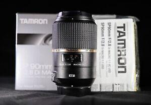 Tamron SP F004 90mm f/2.8 Di VC USD Lens (Nikon) - Beautiful.