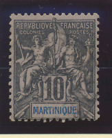 Martinique Stamp Scott #38, Used