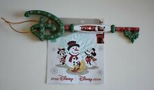 Disney Store Mickey Minnie Christmas 2019 Key Opening Ceremony Limited Edition