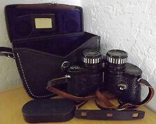 Vintage Sears Super Wide Angle 7x35mm Binoculars Model 6287-A +Case BAK-4 Prisms