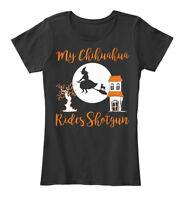 Chihuahua Shotgun - My Rides Women's Premium Tee T-Shirt