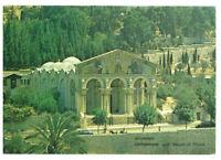 Jerusalem: Gethsemane and Mount of Olives, Israel, Palestine Rare Postcard