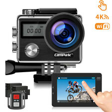 Campark 4K 20MP Sports Camera Touch Screen Waterproof WIFI Action Cam Camcorder