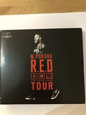M Pokora - Red Tour CD DVD 2 CD's 1 DVD Concert