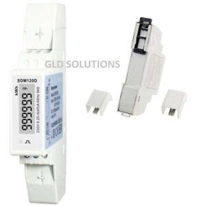 ENERGY METER Modulo Conta Energia Sistema Monofase Fotovoltaico DIN Display LCD