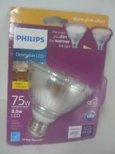 Philips Dimmable LED 8.5W (75W replacement) Bright White Flood Bulb PAR30S