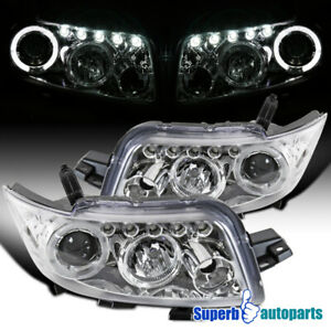 For 2008-2010 Scion xB Dual LED Halo Projector Headlights Lamps