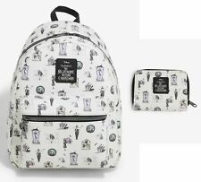 Loungefly Nightmare Before Christmas pastel characters mini backpack & wallet