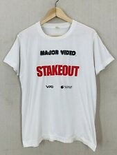 Vintage 1987 Stakeout Action Comedy Movie Promo T-Shirt Sz M/L Dreyfuss Estevez