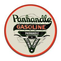 Vintage Design Sign Metal Decor Gas and Oil Sign - Panhandle Gasoline Refining