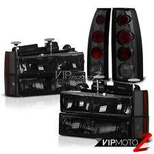 [ALL SMOKE] 1988-1993 Chevy C10 Pickup Truck Turn Signal Bumper Head Lights Lamp