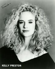 Young KELLY PRESTON Signed Photo