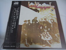 LED ZEPPELIN-Ⅱ 2 JAPAN 1st.Press w/OBI NIPPON GRAMMOPHONE MT-1091 Deep Purple