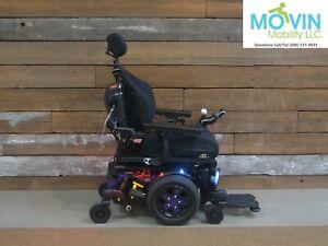 2021 Quantum Q6 Edge 3 Stretto Electric Wheelchair w/ Power Tilt Recline Legrest