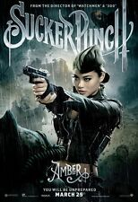"""Sucker Punch movie poster  : 11"""" x 17""""  Amber  -  character poster"""