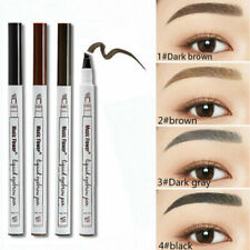 Waterproof Tattoo Eyeliner Liquid Ink Tint Eyebrow Pen Pencil Brush Liner MakeUp
