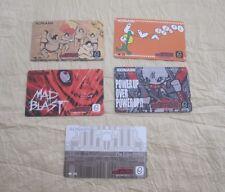 2003 KONAMI DRUM MANIA 8TH MIX ID CARDS SET 1