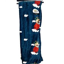 Peanuts Snoopy Flying Ace Dog House Christmas Throw Blanket