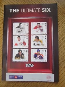 Canada Post Magazine - The Ultimate Six - Orr, Howe, Gretzky - Sept 2017   ZMG1