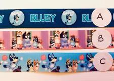 "BB Ribbon BLUEY x 2m grosgrain 7/8"" 22mm bingo select design"