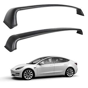 Tesla Model 3 Roof Rack Aluminum Cargo Cross Bars Set of 2