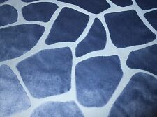 2.5Y new KRAVET upholstery Cut Velvet fabric SAFARIYA in DELFT animal design