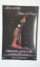 FREDDIE MERCURY Double-Sided Promo Poster 'LOVER OF LIFE... DVD'  Queen