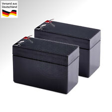 2x 12V Battery f APC RBC123 Smart UPS 750 USV Blei Gel Akku 7Ah 8Ah 9Ah Batterie