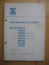 Reparaturanleitung Sachs 1001/5A Mofa Moped Oldtimer Sammler