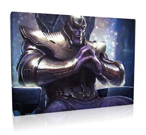Avengers Thanos Concept Art 003  Framed Canvas Print