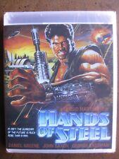 HANDS OF STEEL (1986) (Blu-Ray) CODE RED: DANIEL GREENE, JOHN SAXON - BRAND NEW!