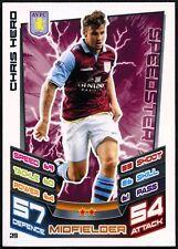 Chris Hero Aston Villa #29 Topps Match Attax Football 2012-13 Trade Card (C440)